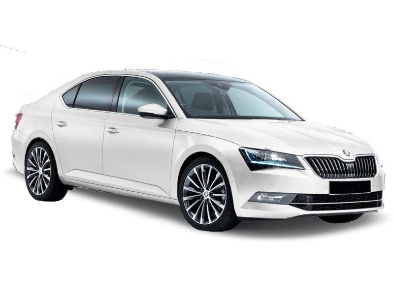 Private airport transfer Prague Skoda Superb III